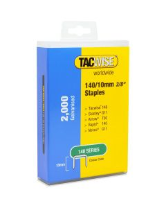 Tacwise Type 140 Staples 10mm (2,000 Pack) - Plastic Pack - 1418