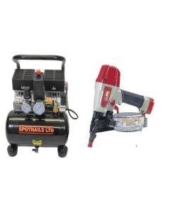 Max M-K 238 Pneumatic Flooring Kit (110V) - 10CN238K110V