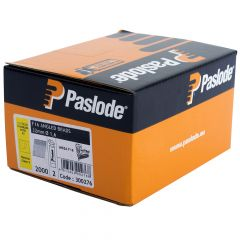 Paslode Angled Brad Nails F16 - 64mm Stainless Steel A2 - 2 Fuel Cells - 2,000 Pack