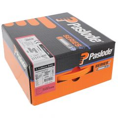 Paslode IM360Ci Nails 80mm - 3.1mm RG S/Steel A2 - 1 Fuel Cell - 1100 Pack