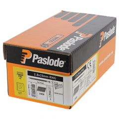 Paslode Nails 25mm - 2.8mm RG - 2 Fuel Cells - 2,000 Pack