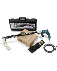 Quik Drive Kit with Makita FS2300 Screw Gun (240V) - QD76FS4300K - Available End Of October Due To High Demand