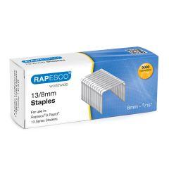 Rapesco 13/8mm Galvanised Staples - S13080Z3
