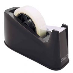 Rapesco 500 Heavy Duty Tape Dispenser (black) - RPTD500B