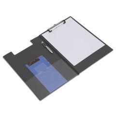 Rapesco Foldover Clipboard, A4/Foolscap (black) - VFDCB0B3