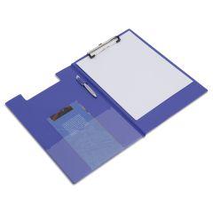 Rapesco Foldover Clipboard, A4/Foolscap (blue) - VFDCB0L3