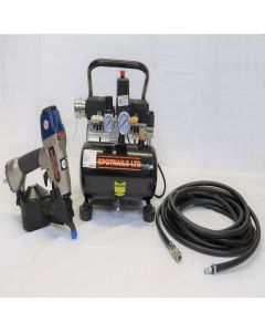 Spotnails SFC19 low noise 60dba Flooring Compressor Kit (110v) - KIT110V