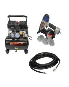 Spotnails SFN19 Flooring Coil Nail Gun Complete Package (110V) - 39SFN19C110V - Out of Stock Until Further Notice