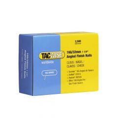 Tacwise 16G - 32mm Angled Finish Nails (2,500 Pack) - 0769