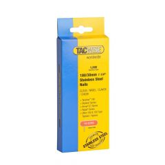 Tacwise Type 180 (18G) - 30mm Stainless Nails 1000 Pack - 1067