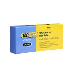 Tacwise Type 18G - 13mm Brad Nails (5,000 Pack) - 0393