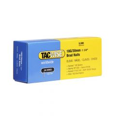 Tacwise Type 18G - 30mm Brad Nails (5,000 Pack) - 0397
