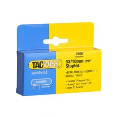 Tacwise Type 53 - 10mm Staples (2,000 pack) - 0336