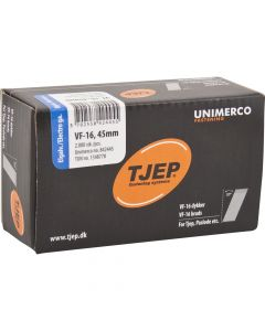 Tjep VF16 45mm Galv Brads (2000 Pack) - 34TJEPAB1645