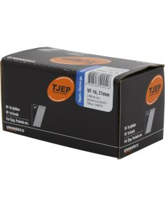 Tjep VF16 51mm Galv Brads (2000 Pack) - 34TJEPAB1651