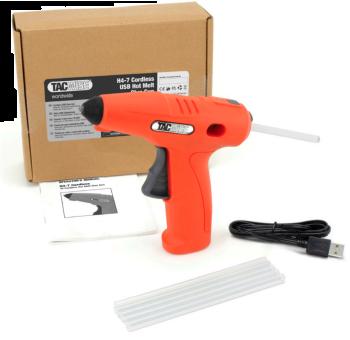 Tacwise Cordless 4V Hot Melt Glue Gun H4-7 - 1559