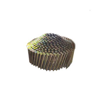 Conical Coil Nails Plastic Collated 2.1 x 38mm Galvanised - Ring Shank (16,000 Pack)