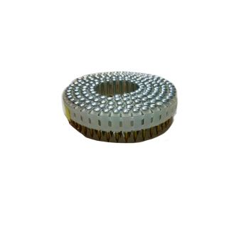 Mini Coil Nails Plastic Collated 1.8 x 22mm Galvanised - Ring Shank (16,500 Pack)