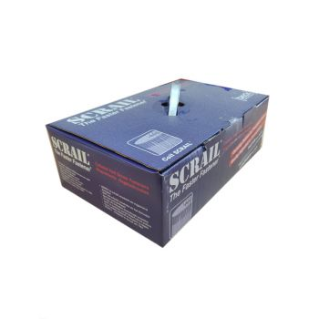 Scrail Coil Nails Hp 2.8/3.2 x 65mm Wire Collated - Electro-Galvanized - Tx15 Head (2000 Pack)