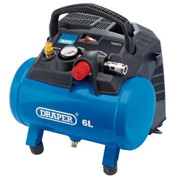 Draper 6L Oil-Free Air Compressor (1.2kW) - 02115
