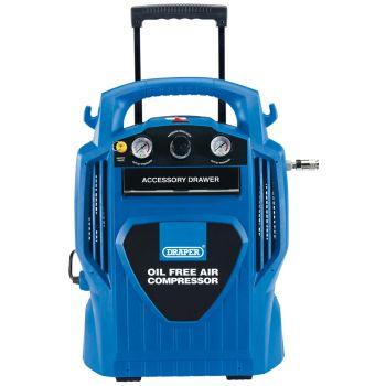Draper 6L Oil-Free Air Compressor (1.2kW) - 02116