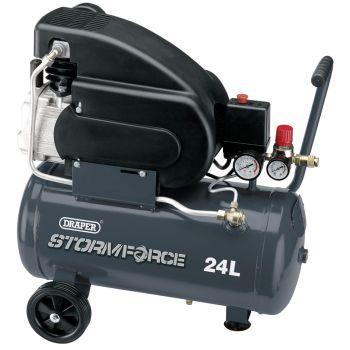 Draper 24L 230V 2hp Air Compressor - 05226