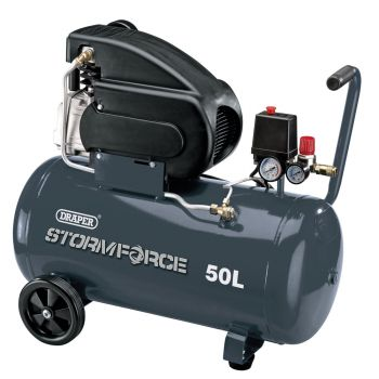 Draper 2hp Air Compressor (50L) - 05252