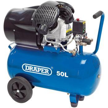 Draper Air Compressor, 50L, 2.2kW - 29355
