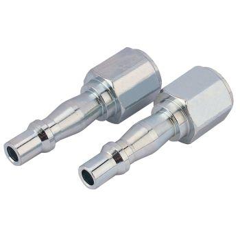 """Draper 1/4"""" BSP Male Coupling Screw Adaptors (Pack of 5) - 81296"""