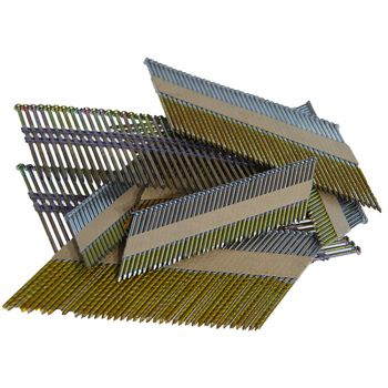 Framing Nails 34° 3.4 x 97mm Bright - Screw Shank (2200 Pack)