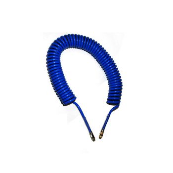 """Spiral Hose Comes With 1/4"""" Male Ends 12m"""