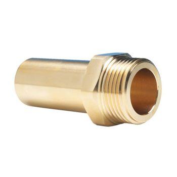 "Brass Stem Adaptor 22mm-3/4"" Male"