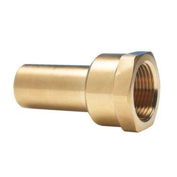 "Brass Stem Adaptor 15mm-1/2"" Female"