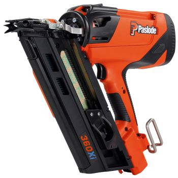 Paslode IM360Xi Gas Framing Nailer with 1 x 2.1Ah Battery, Charger & Case