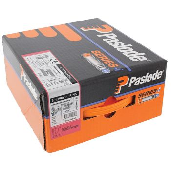 Paslode IM360Ci Nails 63mm - 3.1mm RG Galv Plus - 2 Fuel Cells - 2200 Pack
