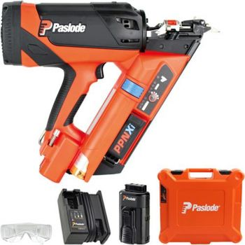 Paslode PPNXi Lithium Gas Positive Placement Twist Nail Gun (1 Battery) *NEW 2021 EDITION* (Replaces the PPN35Ci)