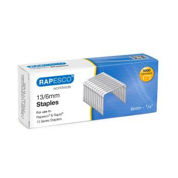 Rapesco 13/6mm Galvanised Staples - S13060Z3