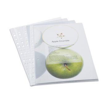 Rapesco Eco Punch Pockets, A4 (Box of 100) - 1104