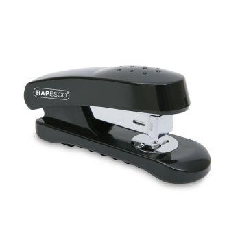 Rapesco Snapper Half Strip Stapler (black) - R53800B1