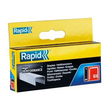 Rapid 53/10B 10mm Galvanised Staples Box 2500 - 11858825
