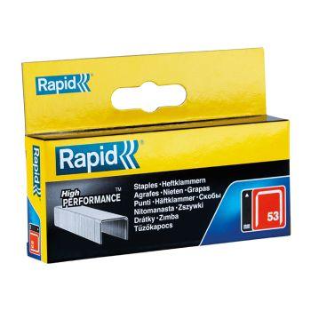 Rapid 53/12B 12mm Galvanised Staples Box 2500 - 11859625
