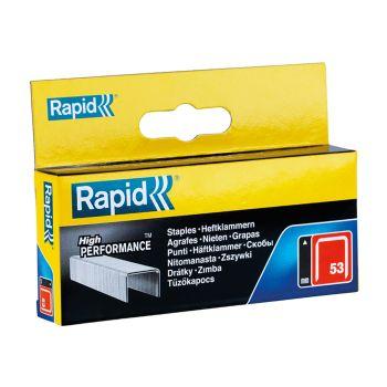 Rapid 53/14B 14mm Galvanised Staples Box 2500 - 11860425