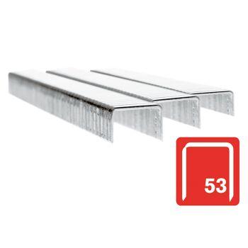 Rapid 53/6B 6mm Galvanised Staples Box 2500 - 11856225