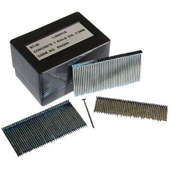 T-Nails 2.2mm x 57mm Masonry (1000 Pack)