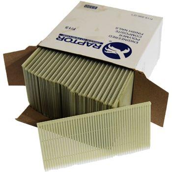 Polymer Plastic Brads 15 Gauge 25mm (2350 Pack)