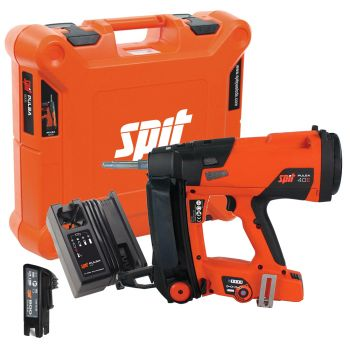 Spit Pulsa 40E Gas Nailer with 1 x 2.1Ah Battery, Charger & Case