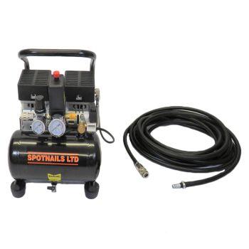 Spotnails SFC19 low noise 60dba Flooring Compressor Kit (110v) - KIT110V