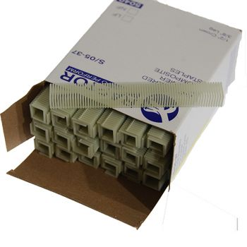 Polymer Plastic Staples 19 Gauge 6mm (5040 Pack)