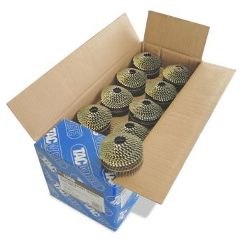 Tacwise 2.1 45mm Bright Coil Nails 14400 Pack - 1008
