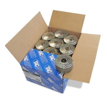 Tacwise 2.5 - 64mm Coil Nails Flat Top Galv